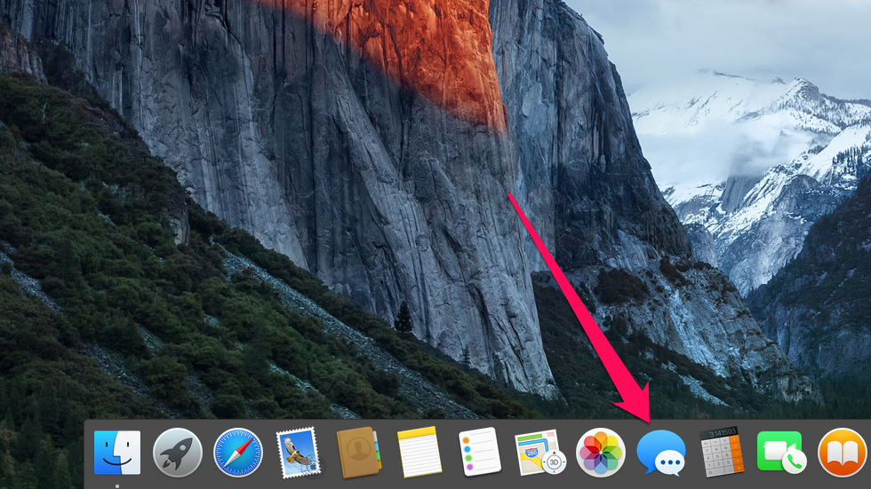 How to change the size of text in Messages on Your Mac